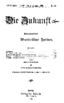 Die Zukunft, 11. Dezember, Jahrg. XVIII, Bd. 69, Nr 11.