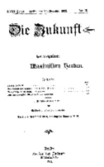 Die Zukunft, 25. Dezember, Jahrg. XVIII, Bd. 69, Nr 13.