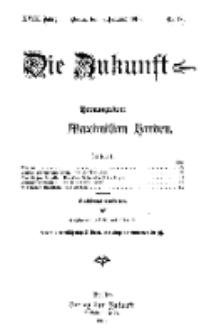 Die Zukunft, 5. Februar, Jahrg. XVIII, Bd. 70, Nr 19.