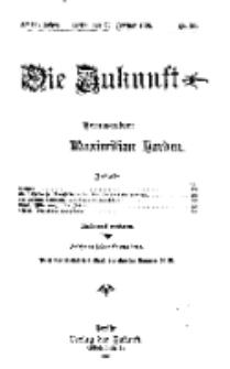 Die Zukunft, 26. Februar, Jahrg. XVIII, Bd. 70, Nr 22.
