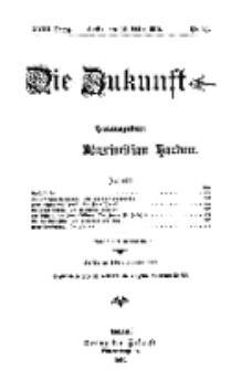 Die Zukunft, 12. März, Jahrg. XVIII, Bd. 70, Nr 24.