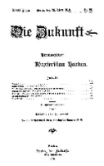 Die Zukunft, 26. März, Jahrg. XVIII, Bd. 70, Nr 26.