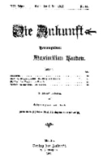 Die Zukunft, 8. Juli, Jahrg. XIX, Bd. 76, Nr 41.