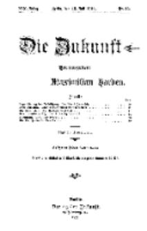 Die Zukunft, 15. Juli, Jahrg. XIX, Bd. 76, Nr 42.