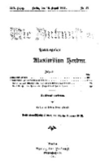 Die Zukunft, 19. August, Jahrg. XIX, Bd. 76, Nr 47.