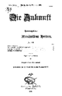 Die Zukunft, 6. Oktober, Jahrg. XV, Bd. 57, Nr 1.