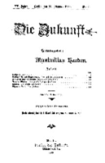 Die Zukunft, 20. Oktober, Jahrg. XV, Bd. 57, Nr 3.