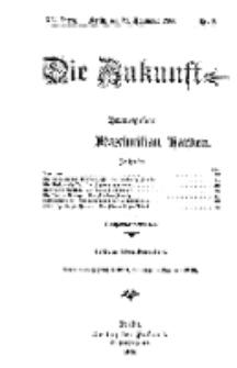 Die Zukunft, 24. November, Jahrg. XV, Bd. 57, Nr 8.
