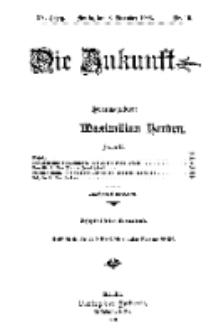 Die Zukunft, 8. Dezember, Jahrg. XV, Bd. 57, Nr 10.