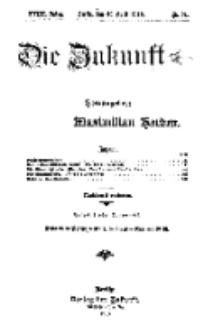 Die Zukunft, 30. April, Jahrg. XVIII, Bd. 71, Nr 31.