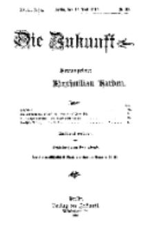 Die Zukunft, 18. Juni, Jahrg. XVIII, Bd. 71, Nr 38.