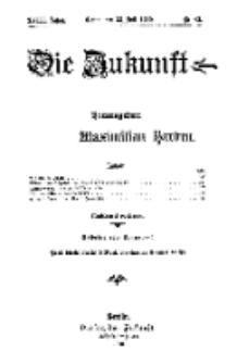 Die Zukunft, 23. Juli, Jahrg. XVIII, Bd. 72, Nr 43.