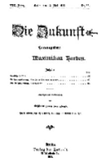 Die Zukunft, 13. Mai, Jahrg. XIX, Bd. 75, Nr 33.