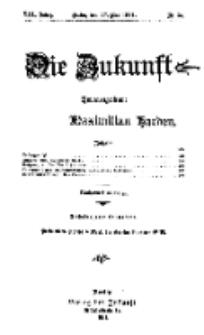 Die Zukunft, 27. Mai, Jahrg. XIX, Bd. 75, Nr 35.