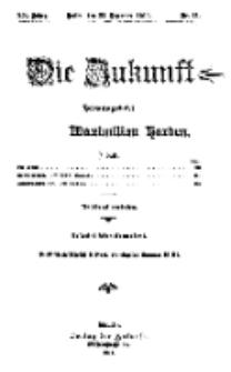 Die Zukunft, 23. Dezember, Jahrg. XX, Bd. 77, Nr 12.