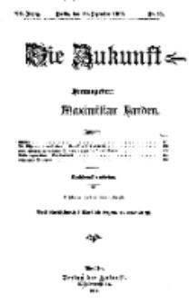 Die Zukunft, 30. Dezember, Jahrg. XX, Bd. 77, Nr 13.