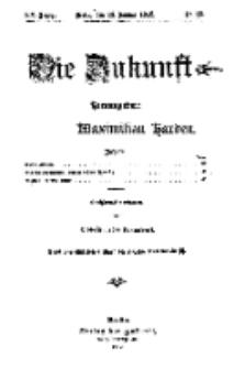 Die Zukunft, 13. Januar, Jahrg. XX, Bd. 78, Nr 15.