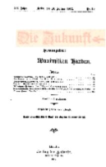 Die Zukunft, 10. Februar, Jahrg. XX, Bd. 78, Nr 19.