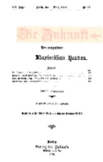 Die Zukunft, 9. März, Jahrg. XX, Bd. 78, Nr 23.