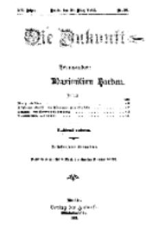 Die Zukunft, 30. März, Jahrg. XX, Bd. 78, Nr 26.