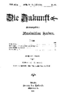 Die Zukunft, 11. Juli, Jahrg. XXII, Bd. 88, Nr 41.