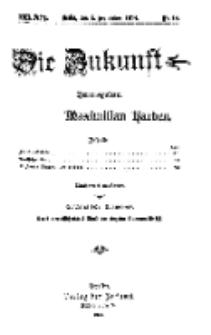 Die Zukunft, 5. September, Jahrg. XXII, Bd. 88, Nr 49.