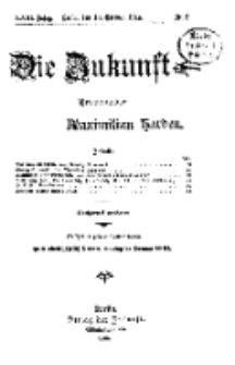Die Zukunft, 10. Oktober, Jahrg. XXIII, Bd. 89, Nr 2.