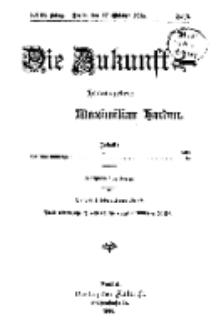 Die Zukunft, 17. Oktober, Jahrg. XXIII, Bd. 89, Nr 3.