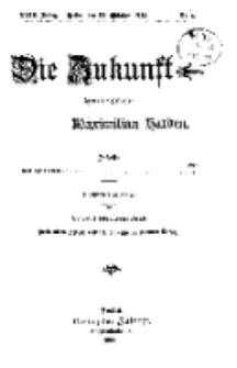 Die Zukunft, 24. Oktober, Jahrg. XXIII, Bd. 89, Nr 4.