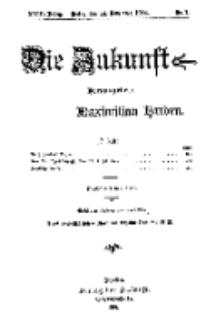 Die Zukunft, 14. November, Jahrg. XXIII, Bd. 89, Nr 7.