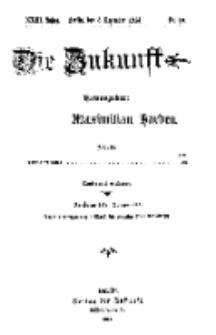 Die Zukunft, 5. Dezember, Jahrg. XXIII, Bd. 89, Nr 10.