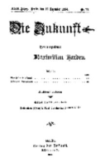 Die Zukunft, 12. Dezember, Jahrg. XXIII, Bd. 89, Nr 11.