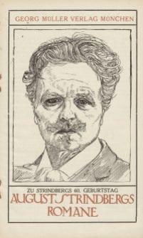 August Strindbergs Romane [ulotka]