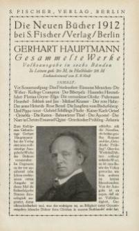 Die Neuen Bücher 1912 [ulotka]
