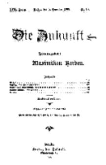 Die Zukunft, 5. Dezember, Jahrg. XVII, Bd. 65, Nr 10.