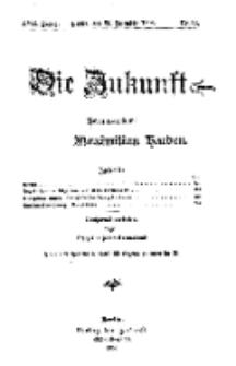 Die Zukunft, 26. Dezember, Jahrg. XVII, Bd. 65, Nr 13.