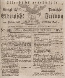 Elbingsche Zeitung, No. 96 Donnerstag, 1 Dezember 1825