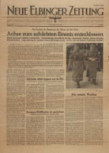 Neue Elbinger Zeitung, Nr. 10, Montag 12. April 1943, 1. Jahrgang