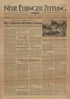 Neue Elbinger Zeitung, Nr. 30, Sonnabend/ Sonntag 8/9. Mai 1943, 1. Jahrgang