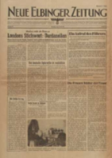 Neue Elbinger Zeitung, Nr. 32, Dienstag 11. Mai 1943, 1. Jahrgang