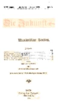 Die Zukunft, 9. Januar, Jahrg. XVII, Bd. 66, Nr 15.