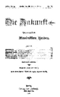 Die Zukunft, 30. Januar, Jahrg. XVII, Bd. 66, Nr 18.