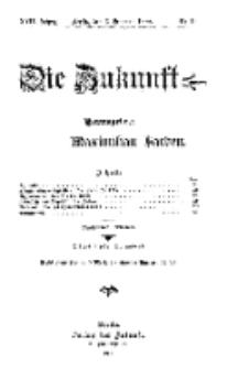 Die Zukunft, 6. Februar, Jahrg. XVII, Bd. 66, Nr 19.