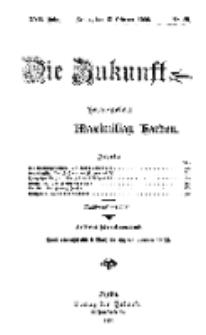 Die Zukunft, 13. Februar, Jahrg. XVII, Bd. 66, Nr 20.