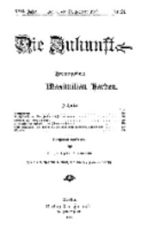 Die Zukunft, 20. Februar, Jahrg. XVII, Bd. 66, Nr 21.