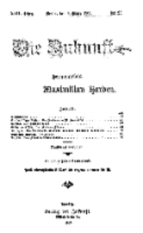 Die Zukunft, 6. März, Jahrg. XVII, Bd. 66, Nr 23.