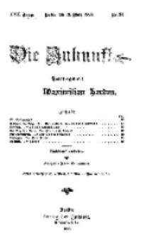 Die Zukunft, 13. März, Jahrg. XVII, Bd. 66, Nr 24.