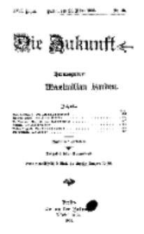 Die Zukunft, 20. März, Jahrg. XVII, Bd. 66, Nr 25.
