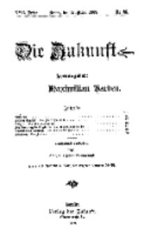 Die Zukunft, 27. März, Jahrg. XVII, Bd. 66, Nr 26.