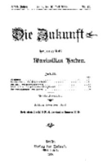 Die Zukunft, 10. Juli, Jahrg. XVII, Bd. 68, Nr 41.